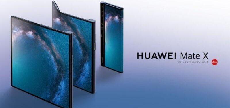 Huawei'nin Katlanabilir Telefonu Mate X Yakın Zamanda Tanıtılabilir