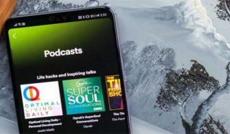 """Spotify bir uygulama içi """"podcast oluştur"""" düğmesini test ediyor"""